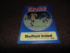 Chesterfield v Sheffield United, 1982/83